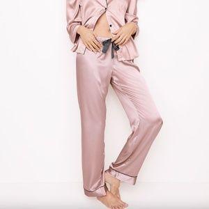 Victoria's Secret⎜The Satin PJ Pant⎜Dusty Rose